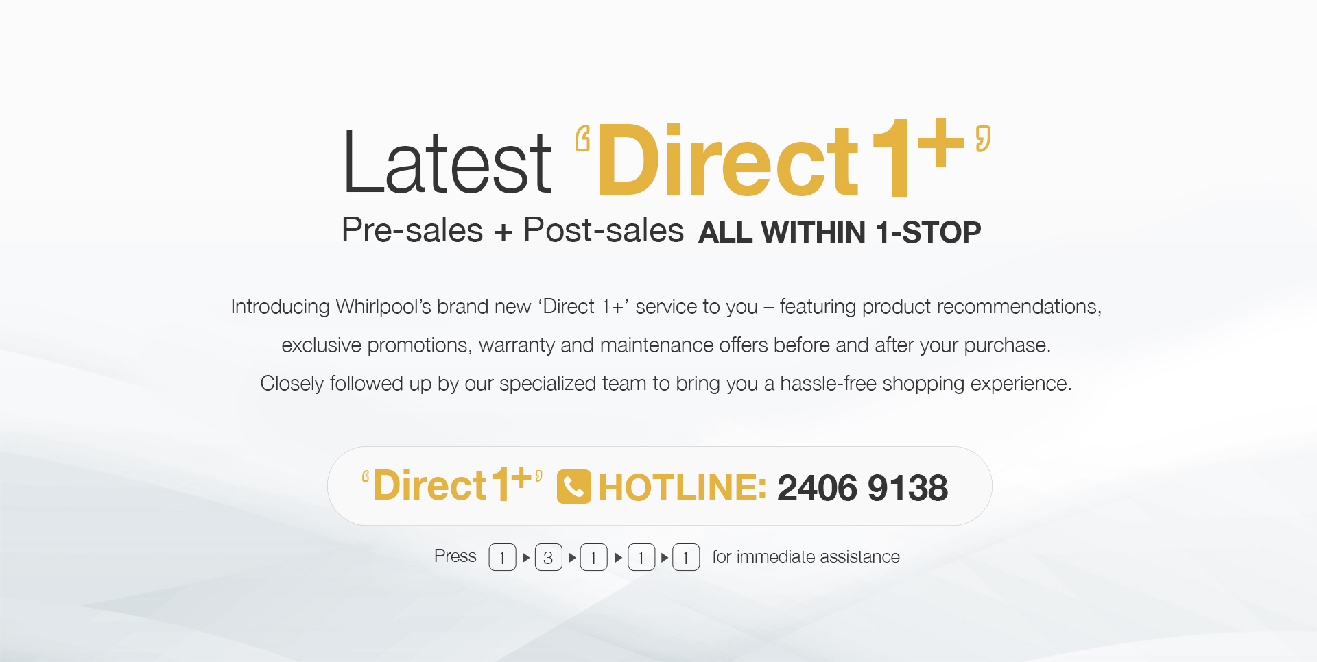 Latest Direct1+